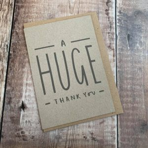 English Thank You Cards