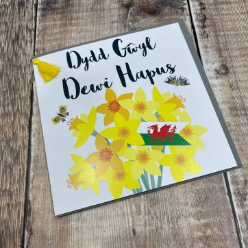 Welsh St David's Day Cards
